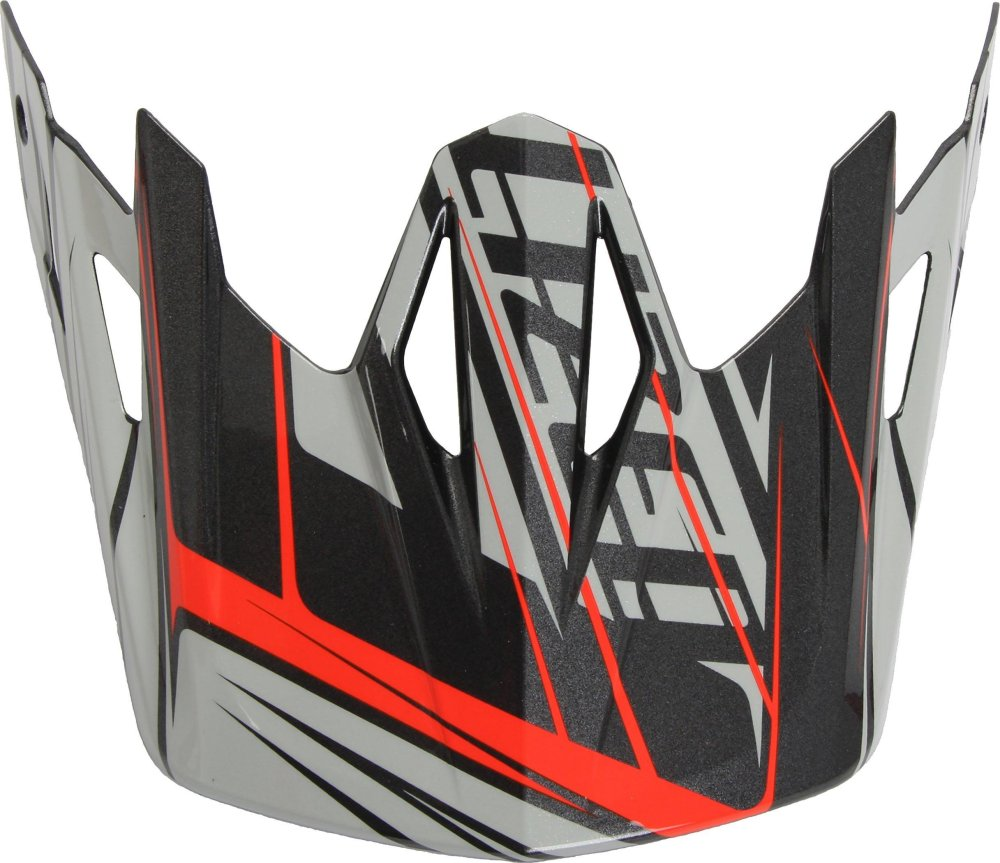 Specialized Dissident Visor Dirty White/Rocket Red Octane ONE SIZE
