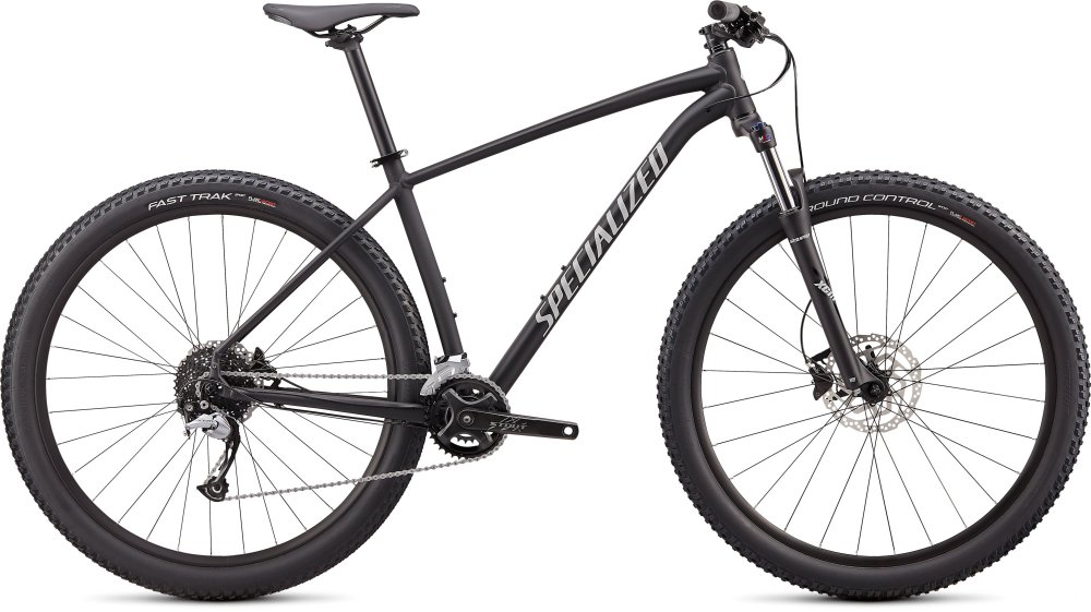 Specialized Rockhopper Comp 2X Satin Black/Gloss Dove Grey S