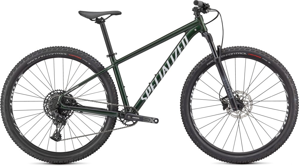 Specialized Rockhopper Expert 29 GLOSS OAK GREEN METALLIC / METALLIC WHITE SILVER S
