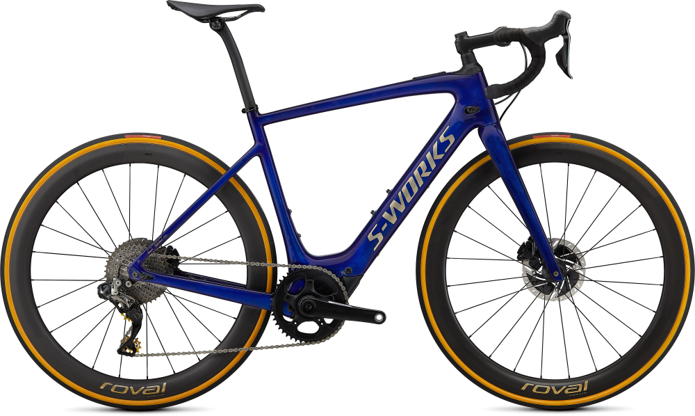 Specialized S-Works Turbo Creo SL  Founder's Edition SPECTRAL BLUE BRUSHED GOLD XXL