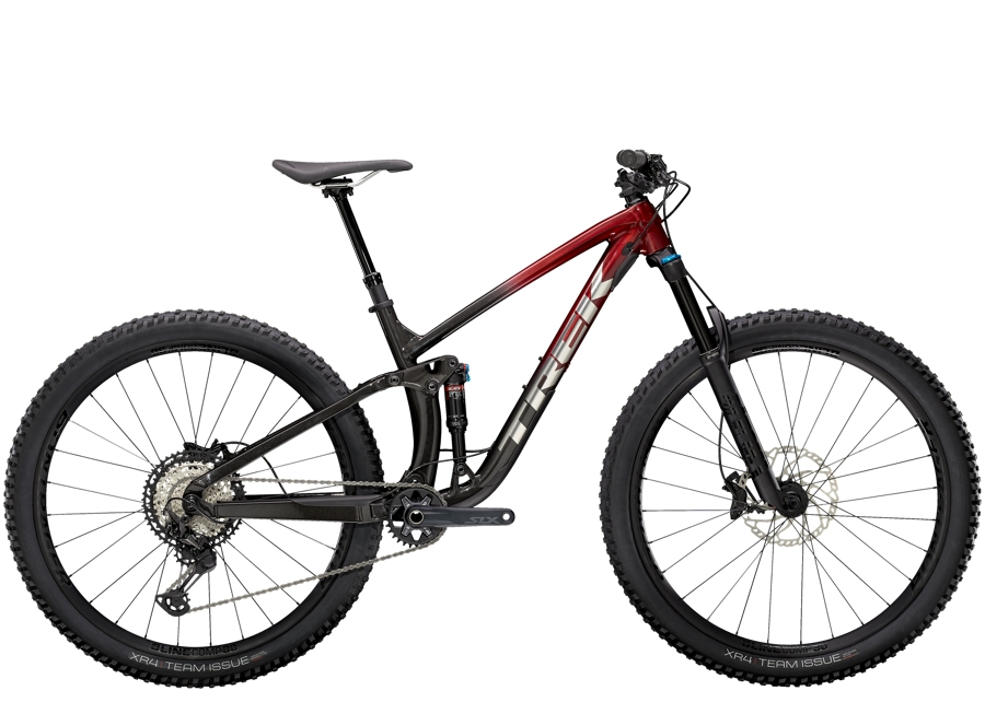 Trek Fuel EX 8 XT ML (29  wheel) Rage Red to Dnister Black Fade