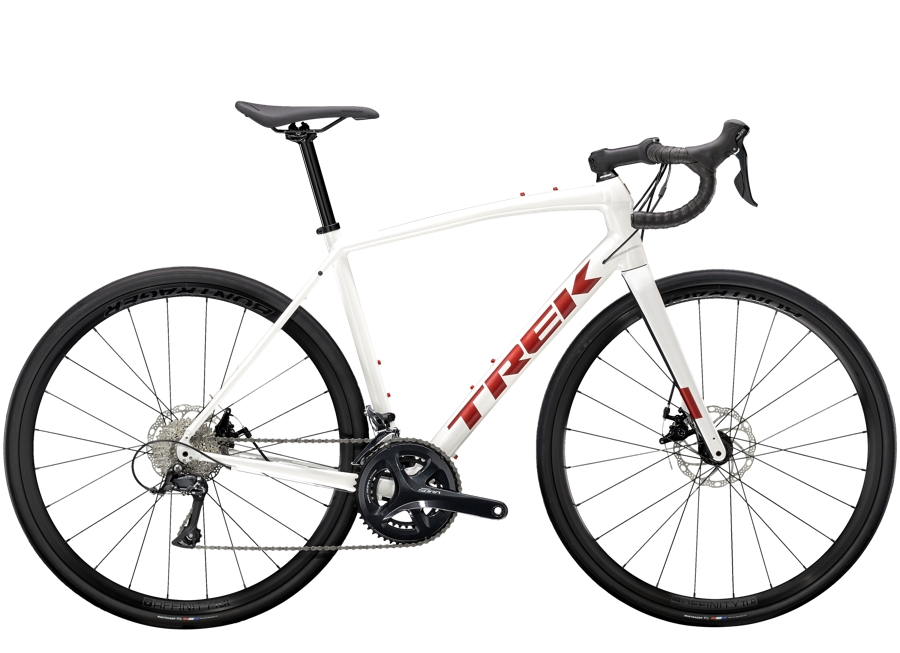 Trek Domane AL 3 Disc 44 Crystal White/Matte Trek Black