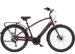 Electra Townie Path Go! 10D EQ Step-Over M Matte Oxblood